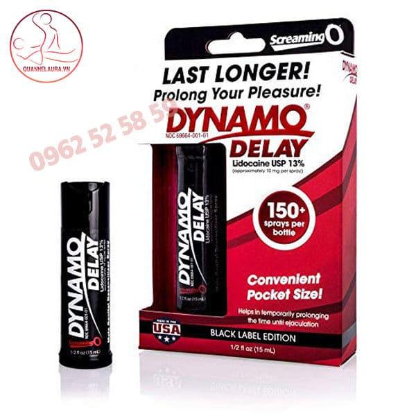 Dynamo delay black