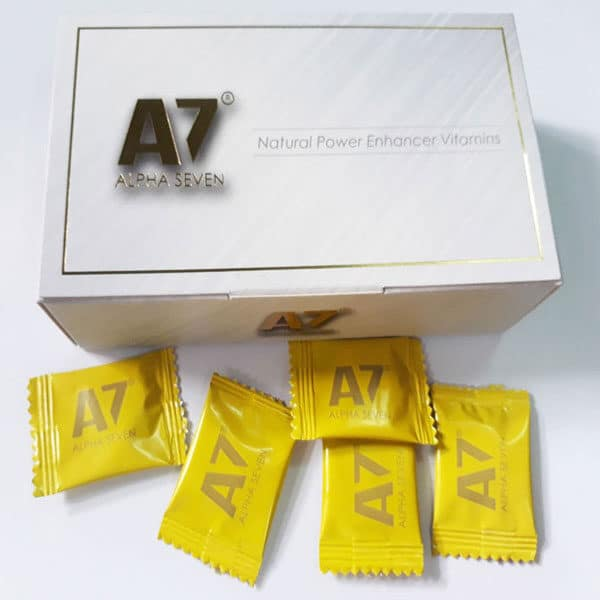 Kẹo Alpha Seven (A7) Thuốc Cường Dương Chính Hiệu Của Mỹ