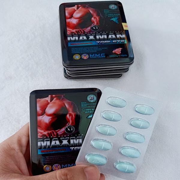 Maxman 3800mg Thuốc Cường Dương Cực Mạnh Dành Cho Quý Ông