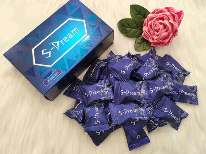 Kẹo Sâm S-Dream Candy Tăng Cường Sinh Lý Nam Hiệu Quả