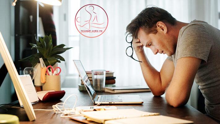 Nam giới thường xuyên căng thẳng và áp lực trong công việc sẽ bị xuất tinh sớm