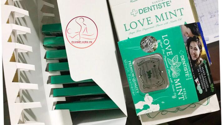 Kẹo Ngậm Phòng The Love Mint Thái Lan