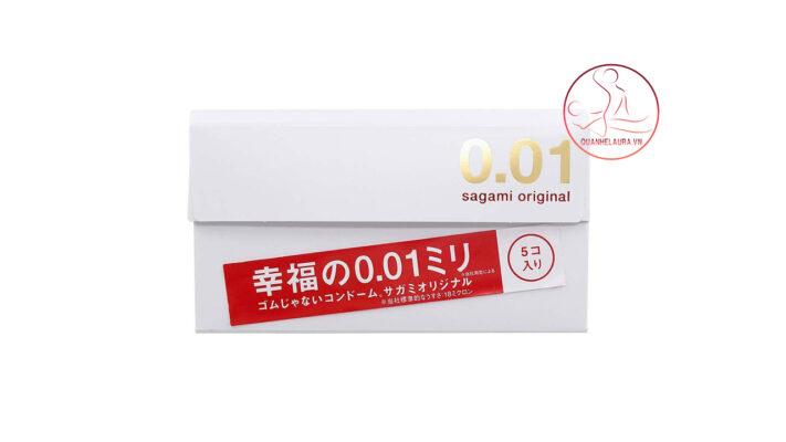 Bao cao su Sagami Original 0.01.