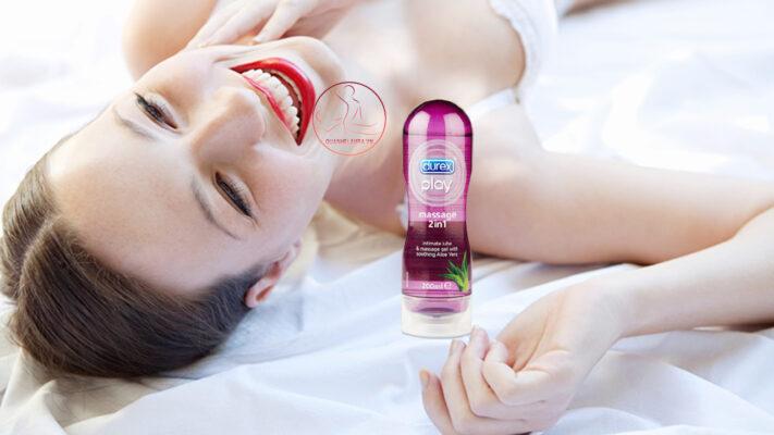 Gel bôi trơn Durex Play Massage 2 in 1