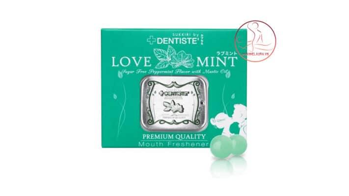 Kẹo ngậm phòng the Love Mint mang lại cảm giác thăng hoa cho các cặp tình nhân