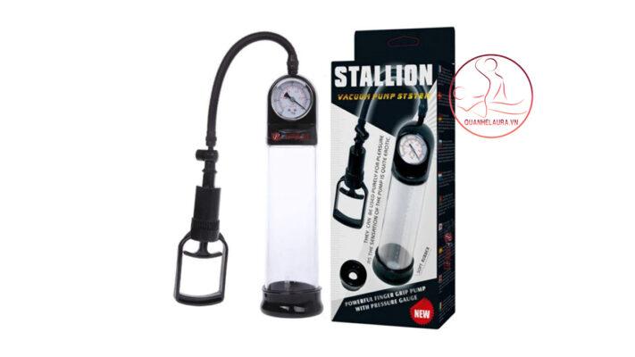 Stallion Máy Tập To Dương Vật Có Đồng Hồ Cực Tốt